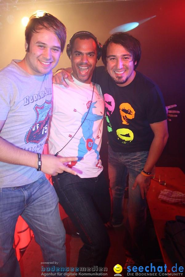 SFT CLUBNIGHT mit COSMIC-FUNK und DJ P KNOCK U aka PATRICE bekannt durch MT