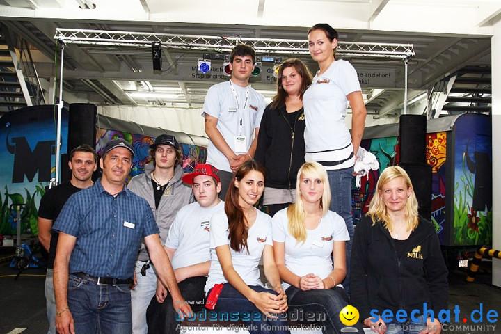 Seehasenfest 2011 mit TV-Star Beatboxer Robeat bei der Jugend-Disco: Friedr