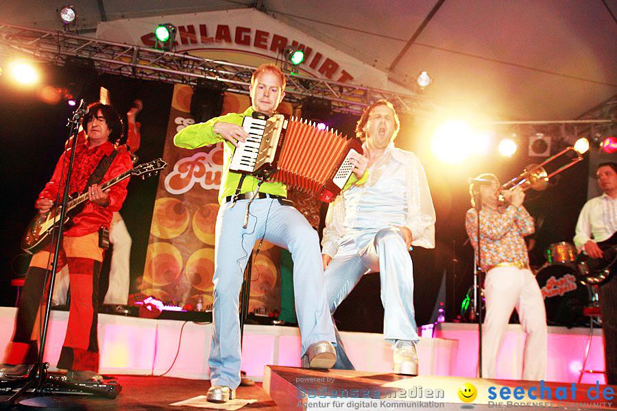 Papis Pumpels beim Schlagerwirt auf dem Seehasenfest: Friedrichshafen, 18.0