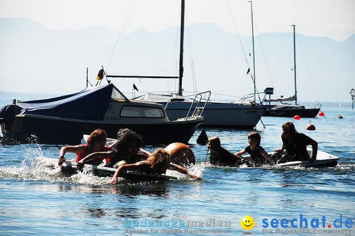 Badewannenrennen 2011: Wasserburg am Bodensee, 16.07.2011