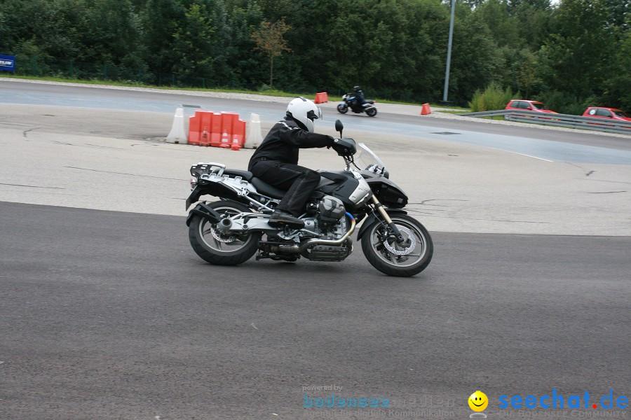 seechat.de Motorradtag: BMW-Wiedereinsteigertraining auf der ADAC-Fahrsiche