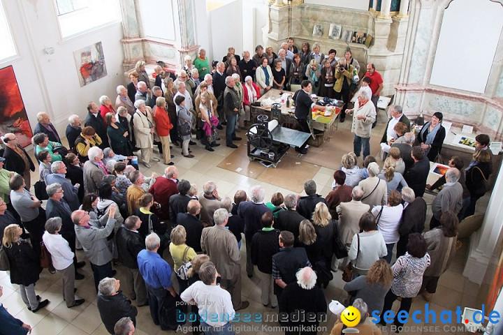 Vernissage von Haas und Waydelich: Schloss Mochental, 23.07.2011