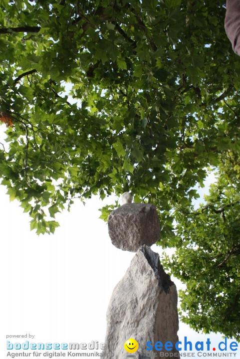Stein-Skulpturen - Radolfzell am Bodensee