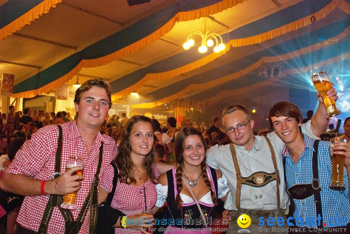 52. Weinfest mit Alpenmafia: Meckenbeuren am Bodensee, 20.08.2011
