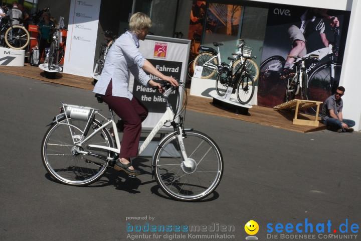 EUROBIKE 2011 - Fahrrad-Messe: Friedrichshafen am Bodensee, 31.08.2011