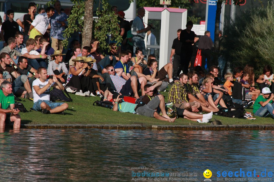 LAKEJUMP: Messe EUROBIKE 2011: Friedrichshafen am Bodensee, 01.09.2011
