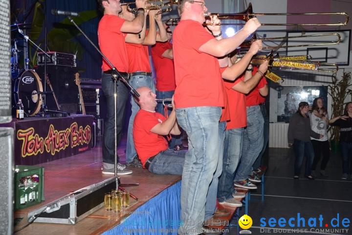 50 Jahre Fanfarenzug Party mit Tom Alex Band: Allensbach am Bodensee, 15.10
