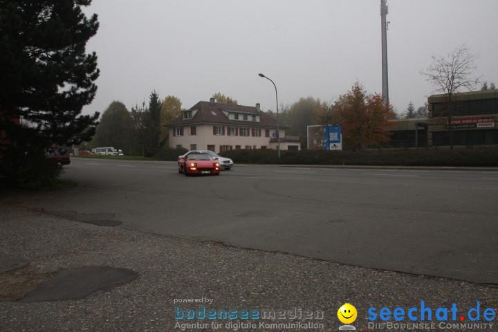 FERRARI F355 Spider: Stockach am Bodensee, 30.10.2011