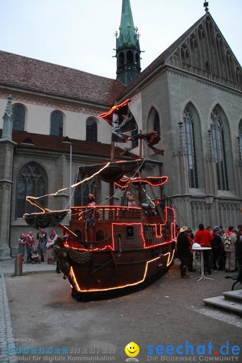 Narrenumzug - Grosses Narrentreffen in Konstanz am Bodensee, 22.01.2012
