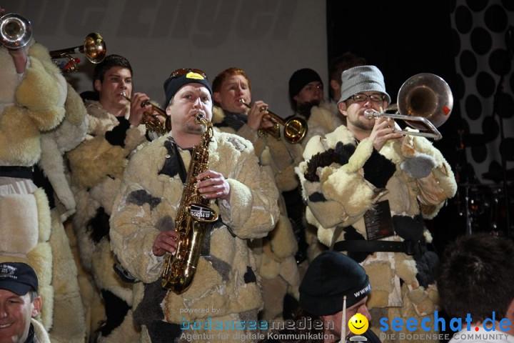 Fasnetsnacht in der Scheffelhalle: Singen am Bodensee, 18.02.2012