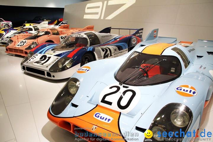Porsche-Museum: Stuttgart-Zuffenhausen, 20.04.2012