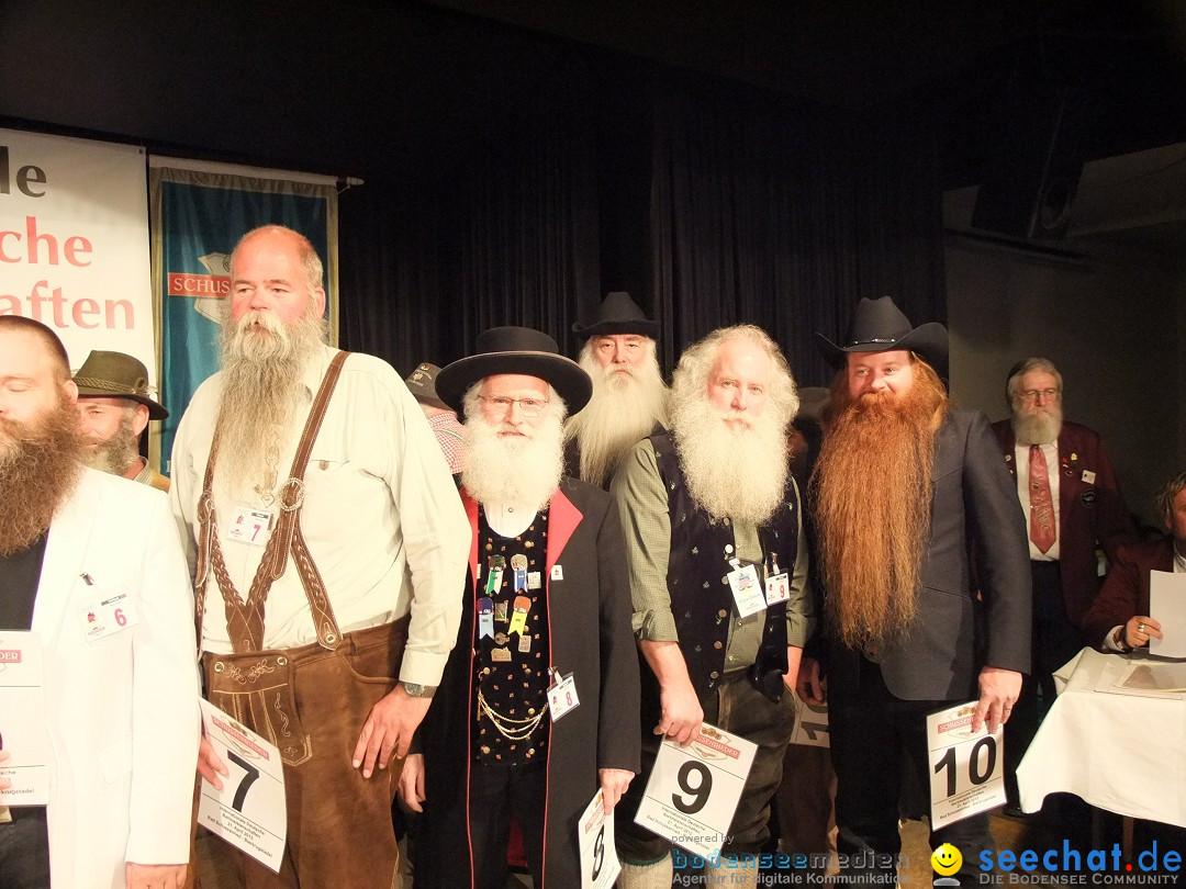 Internationale Deutsche Bartmeisterschaft: Bad-Schussenried, 21.04.2012
