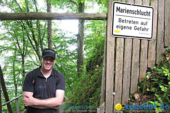 Marienschlucht: Bodman am Bodensee, 27.04.2012