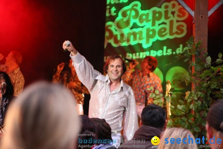 Stadtfest mit PAPIS PUMPELS: Markdorf am Bodensee, 08.06.2012