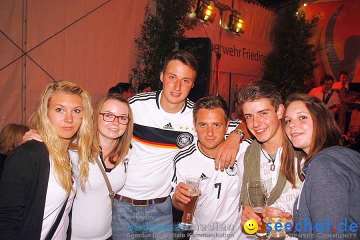EM Public-Viewing: Friedingen am Bodensee, 09.06.2012