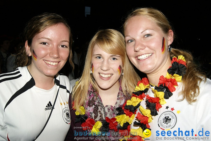 Public Viewing EM: Deutschland-Holland: 2-1  Ravensburg, 13.06.2012
