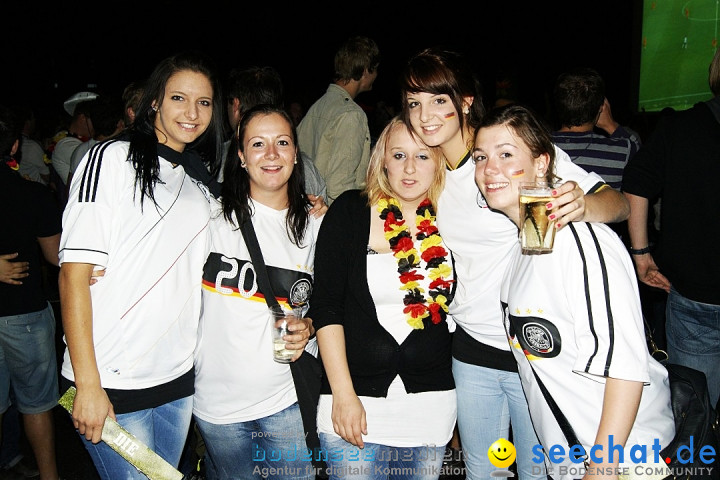 Public Viewing EM: Deutschland-Holland: 2-1  Ravensburg, 13.06.2012