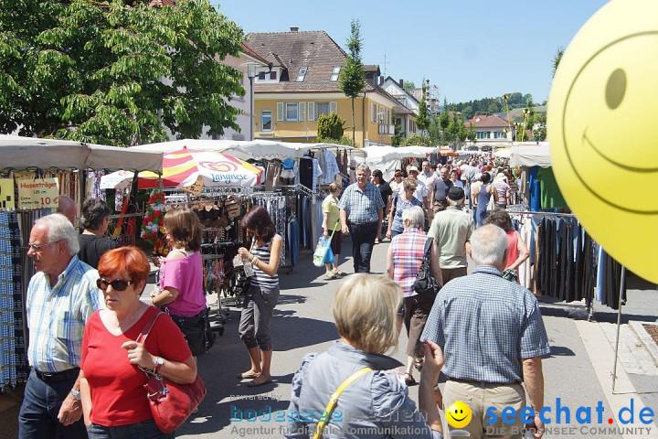 seechat.de Infostand: Schweizerfeiertag in Stockach am Bodensee, 16.06.2012