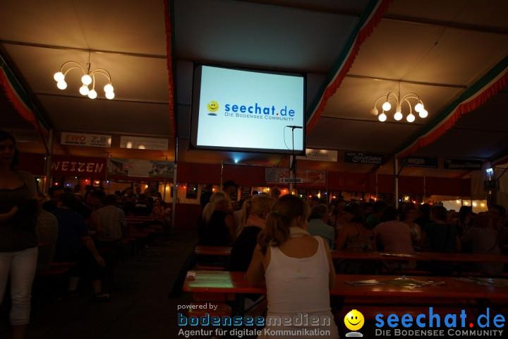 Feierobed-Hock am Schweizer Feiertag: Stockach am Bodensee, 18.06.2012
