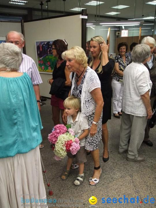 Vernissage Gerda Sorger: Zwiefalten, 05.07.2012