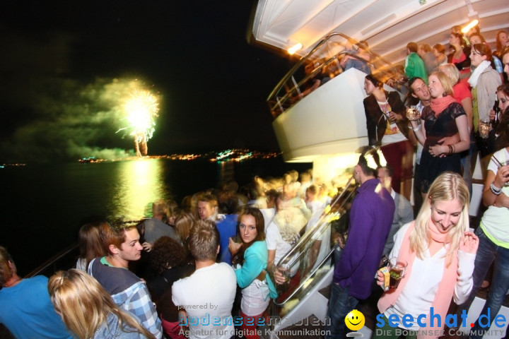 LEMON HOUSE BOAT: Immenstaad am Bodensee, 21.07.2012