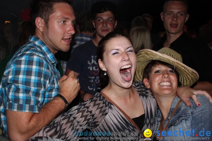 Schlossseefest 2012 mit Feuerwerk: Salem am Bodensee, 28.07.2012