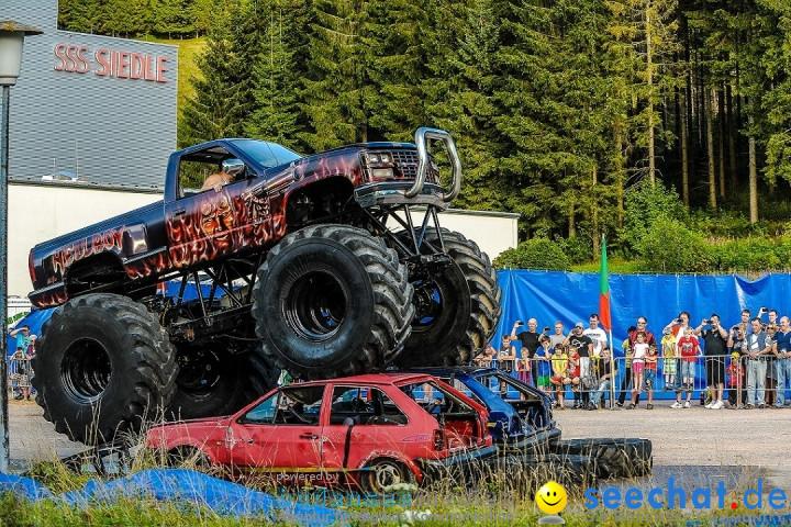 Monster Truck Show: Furtwangen, 03.08.2012