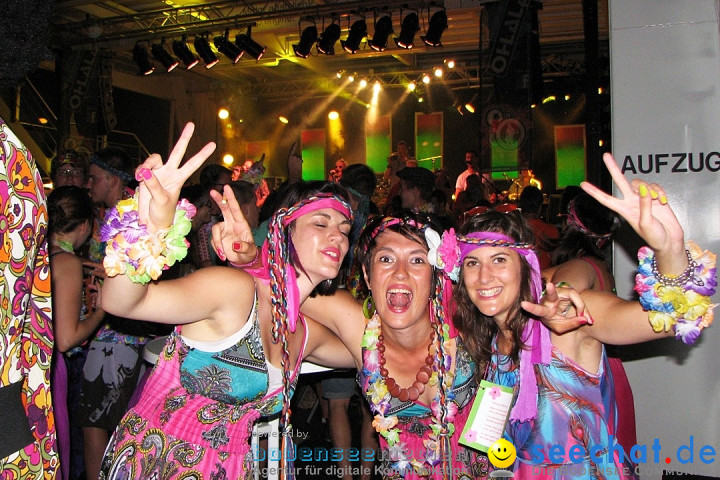 Partyschiff: FLOWER-POWER: Friedrichshafen am Bodensee, 18.08.2012