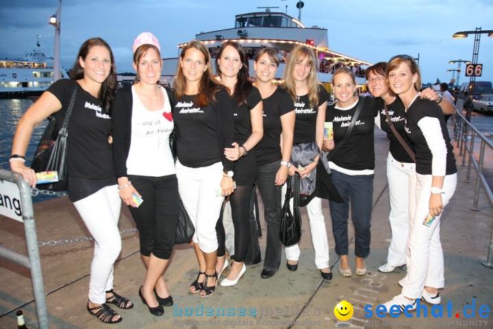 Partyschiff: BLACK-WHITE: Friedrichshafen am Bodensee, 25.08.2012