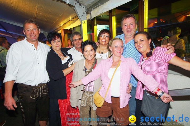 Oktoberfest 2012: Die Lollies und Ps Alex: Nenzingen am Bodensee, 15.09.201