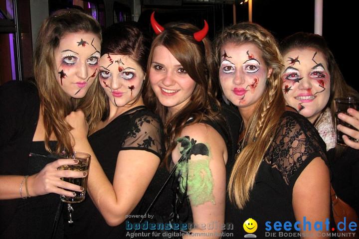Halloween-Party auf der MS-Baden: Friedrichshafen am Bodensee, 31.10.2012
