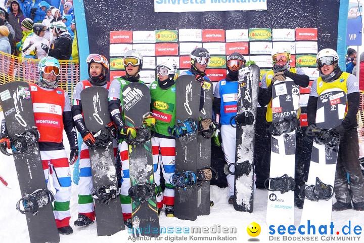 1. FIS Snowboardcross Weltcup - Ski Opening Montafon: Schruns, 08.12.2012