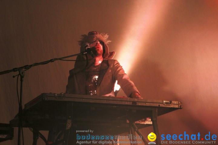 BONAPARTE Konzert im Roxy: Ulm, 12.12.2012