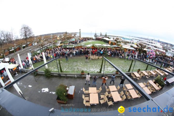 Flashmob: BODENS.EE Gangnam Style by seechat.de: Konstanz, 15.12.12