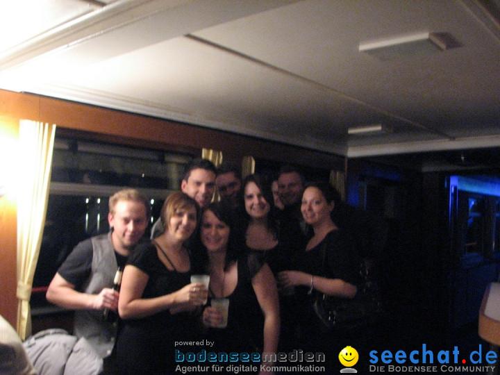 Silvester Party-Boot: Friedrichshafen am Bodensee, 31.12.2012