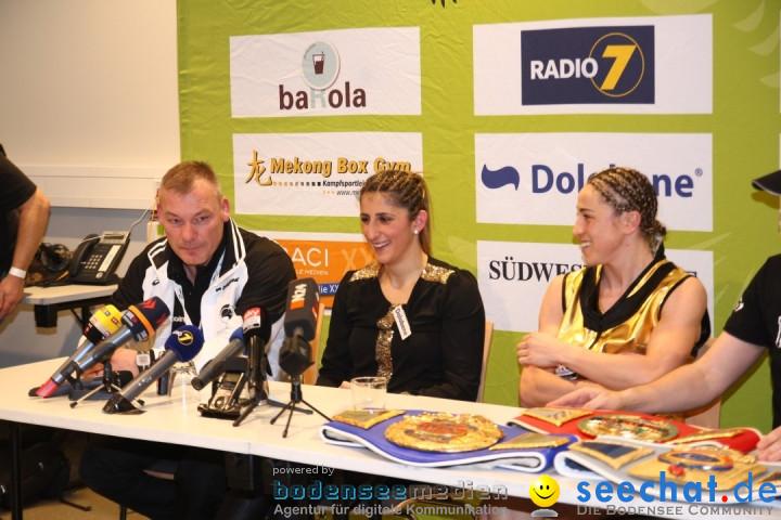 WM-BOXKAMPF: Rola El-Halabi vs. Lucia Morelli: Neu-Ulm, 12.01.2013