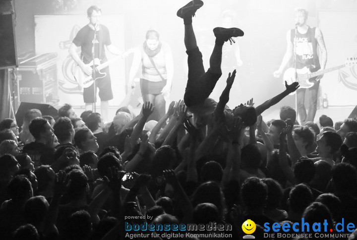 ITCHY POOPZKID: Ports & Chords Tour: Konstanz am Bodensee, 12.04.2013