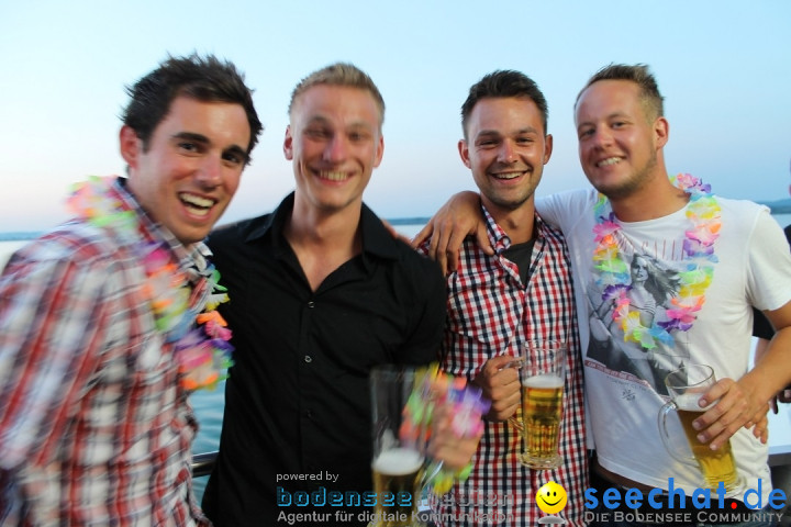 Summernight Partyschiff mit Ohlala: Friedrichshafen am Bodensee, 27.07.2013