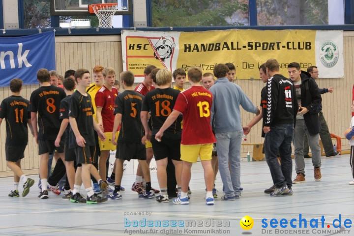 Handball Bodensee: HSC Radolfzell vs. TV Ueberlingen: Radolfzell, 20.10.13