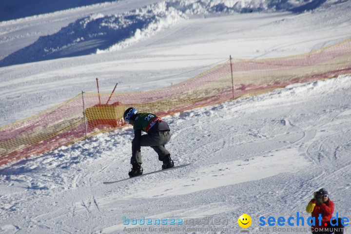 FIS Snowboardcross Weltcup im Montafon: Schruns, 08.12.2013