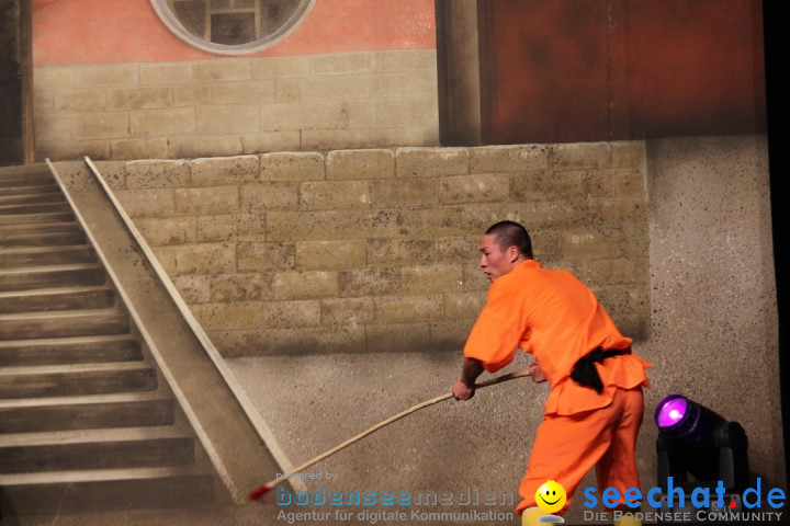Die Meister des Shaolin Kung Fu: Singen am Bodensee, 21.01.2014