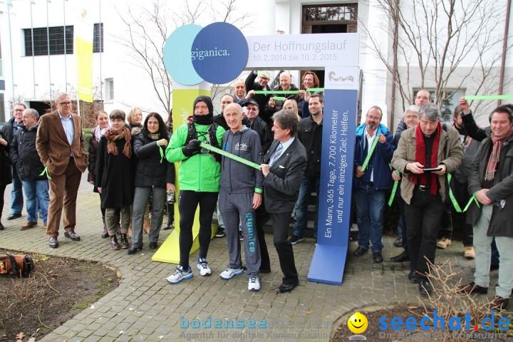 Giganica Hoffnungslauf - Harry Ohlig: Konstanz am Bodensee, 10.02.2014