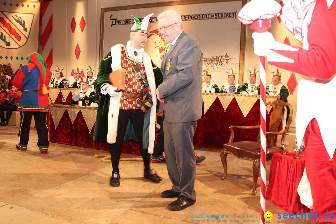 Narrengericht - Winfried Kretschmann: Stockach am Bodensee - seechat, 27.02