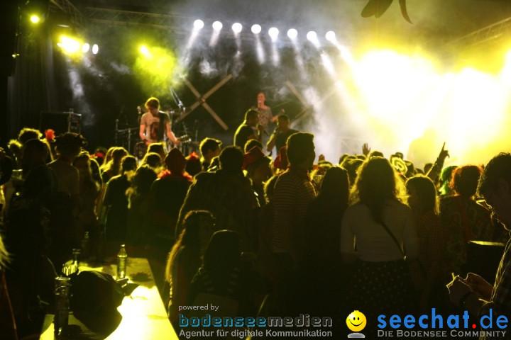 Stierball mit Heaven: Wahlwies am Bodensee mit seechat, 28.02.2014