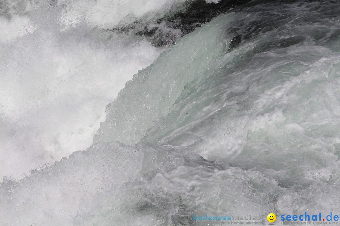 Rheinfall: Neuhausen - Schweiz: Schaffhausen am Bodensee, 09.04.2014