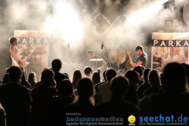 Die Happy live mit Support PARKA: Radolfzell am Bodensee, 12.04.2014