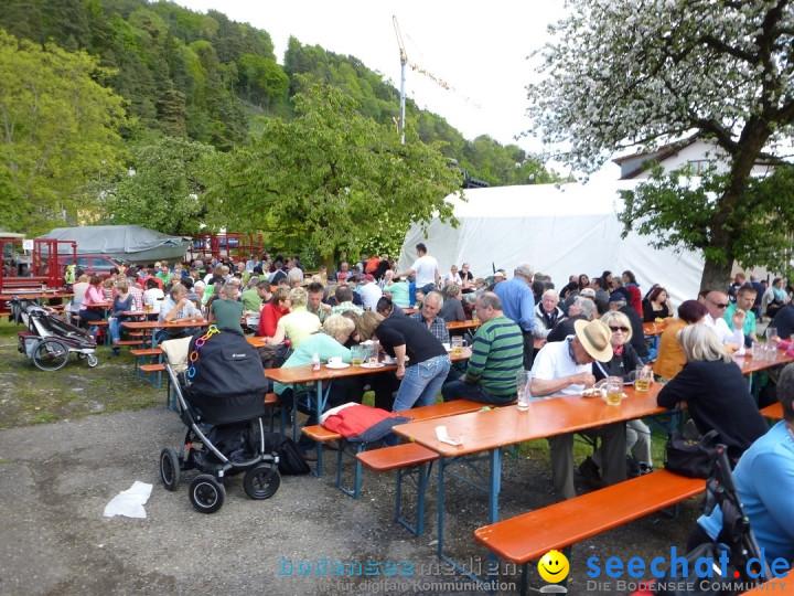 Floriansfest - 1. Mai Wanderung: Sipplingen am Bodensee, 01.05.2014