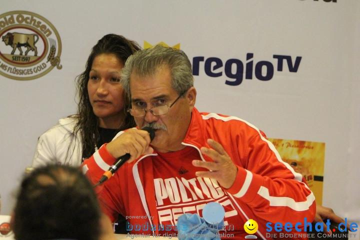 Rola El-Halabi vs. Victoria Cisneros: WM Boxkampf: Ulm, 10.05.2014