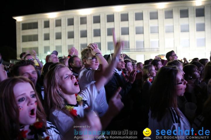 Weltmeister - Deutschland - WM2014: Singen am Bodensee, 13.07.2014