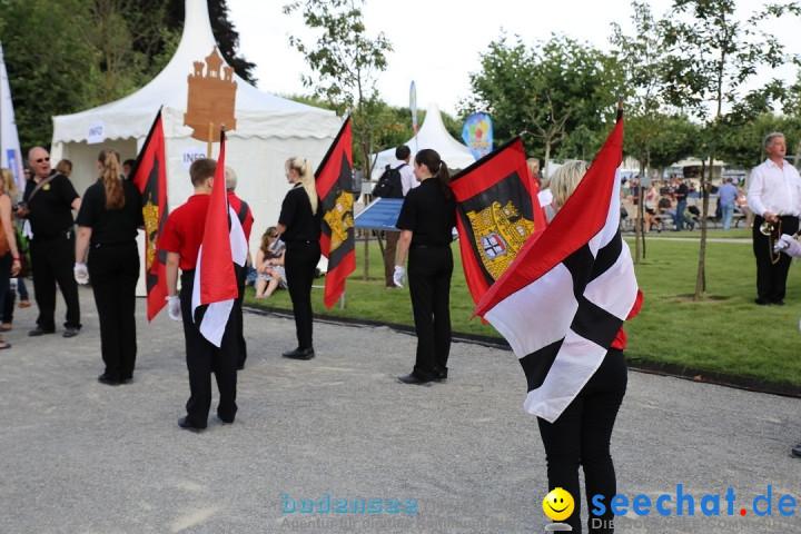 Konstanzer Seenachtfest mit Feuerwerk: Konstanz am Bodensee, 09.08.2014